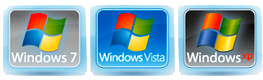 Windows XP, Vista, 7